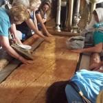 Jerusalem Salbungsstein in der Grabeskirche