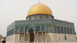 Felsendom Tempelberg in Jerusalem