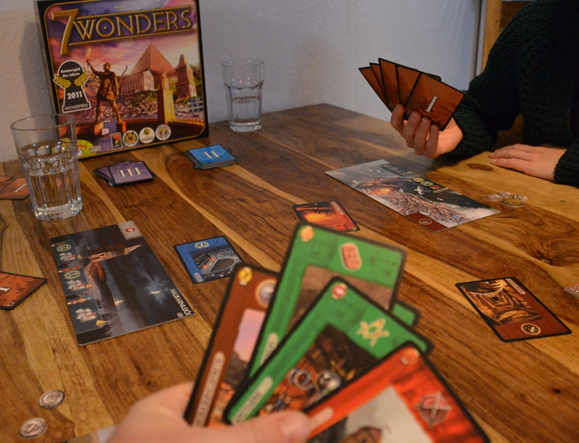 7 Wonders Spielaufbau Asmodee