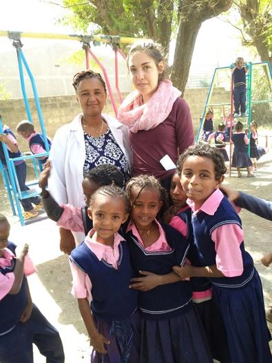 Anna in Äthiopien