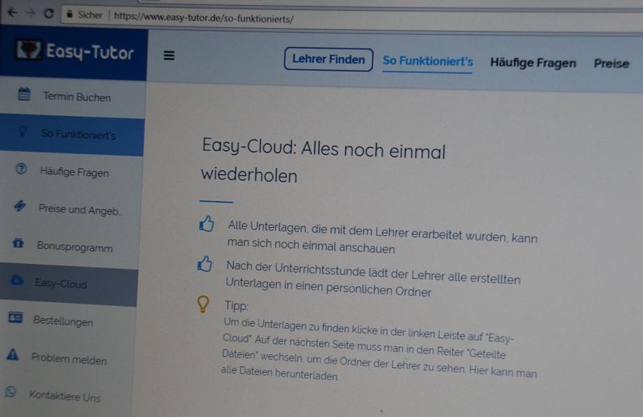 Easy-Tutor Easy Cloud