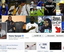 Hans Sarpei kauft Facebook