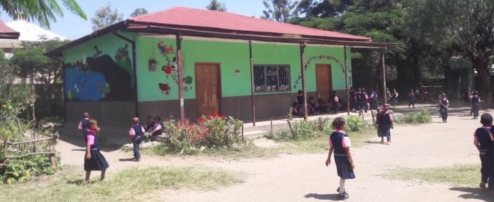 Kindergarten in Aethiopien