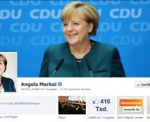 NSA-Affäre: Obama mehrfach auf Fanseite von Merkel