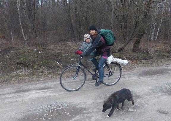 Menschen in der Ukraine