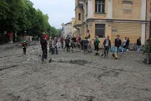 Nach dem Hochwasser in Passau
