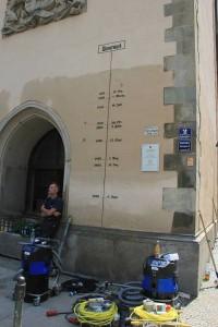 Pegelstände in Passau