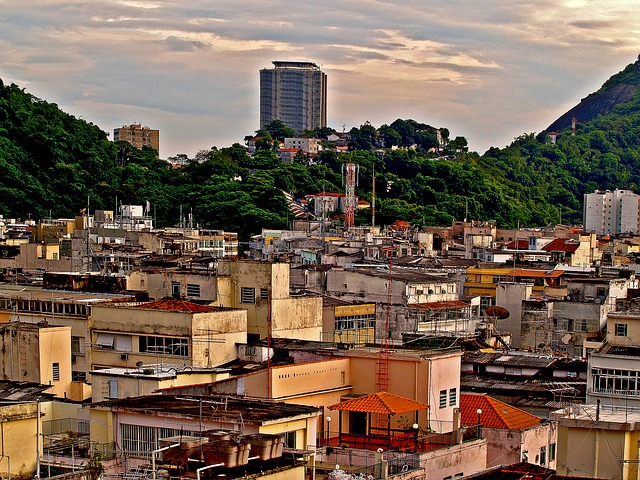 Favelas in Brasilien