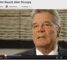 Occupy in Bild und Ton