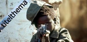 Uganda -kinder im Krieg