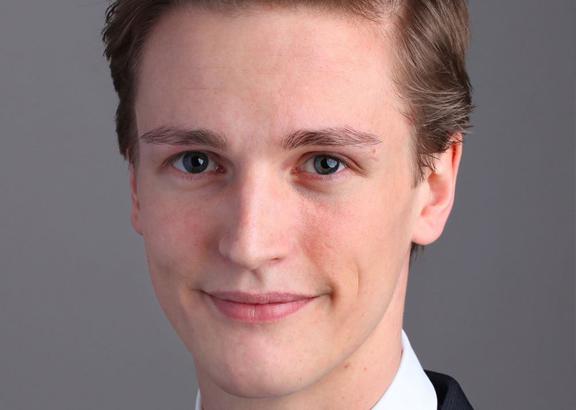 Niklas Welzel von der Linken