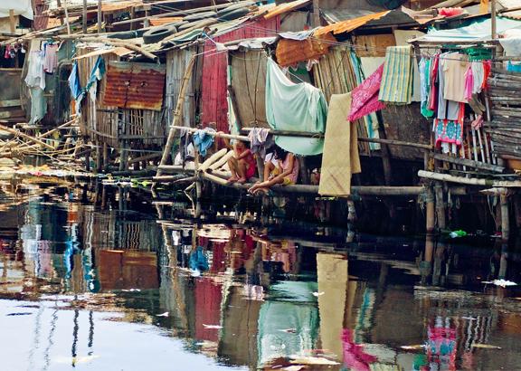 Urbanisierung Slums